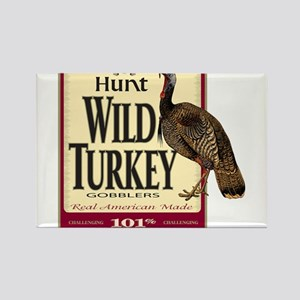 Hunt Wild Turkey Rectangle Magnet
