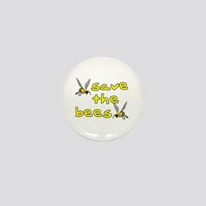 Save the bees - Mini Button
