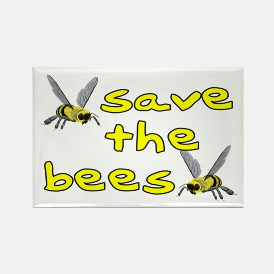 Save the bees - Rectangle Magnet