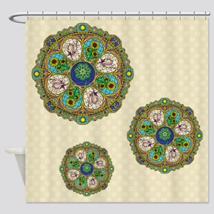 Summer Nouveau Shower Curtain