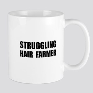 Struggling Hair Farmer Mug