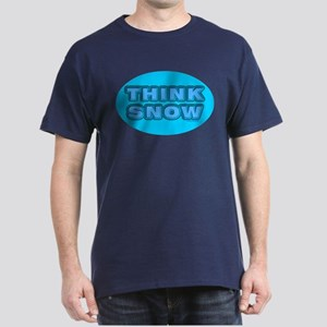 Think Snow Black T-Shirt