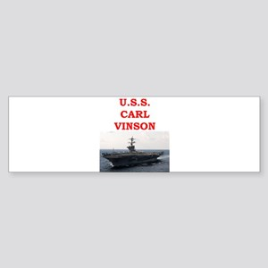 carl vinson Sticker (Bumper)