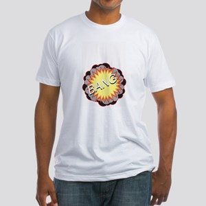 Very pregnant 'BANG' belly Fitted T-Shirt
