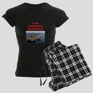theodore roosevelt Women's Dark Pajamas