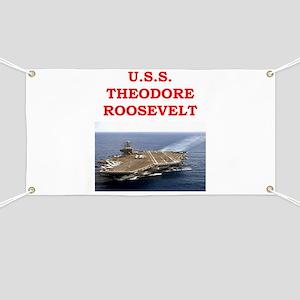 theodore roosevelt Banner
