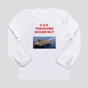 theodore roosevelt Long Sleeve Infant T-Shirt