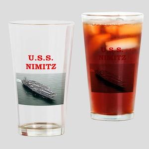nimitz Drinking Glass