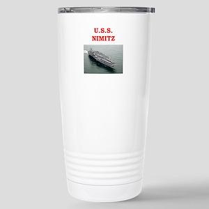 nimitz Stainless Steel Travel Mug