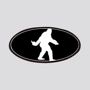 Bigfoot Flips The Bird Patches