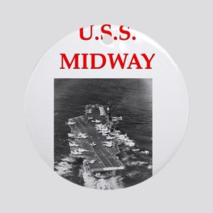 MIDWAY Ornament (Round)