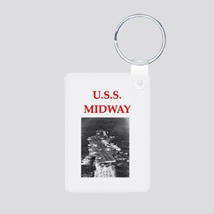 MIDWAY Aluminum Photo Keychain