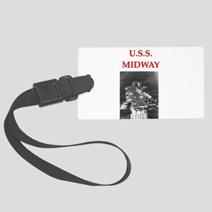 MIDWAY Large Luggage Tag