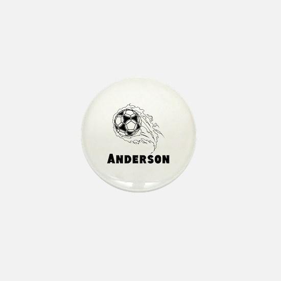 Personalized Soccer Mini Button