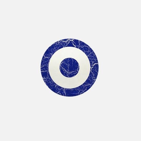 Greece Roundel Mini Button