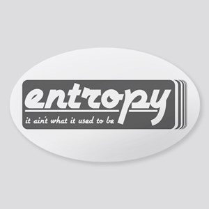 Entropy Sticker (Oval)