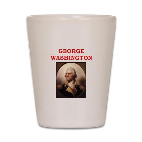 george,washington Shot Glass