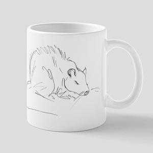 Sketch Rat Mug