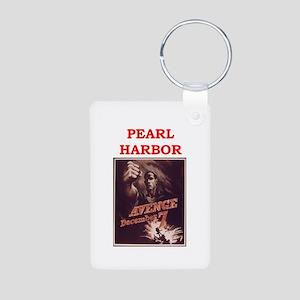 pearl harbor poster Aluminum Photo Keychain