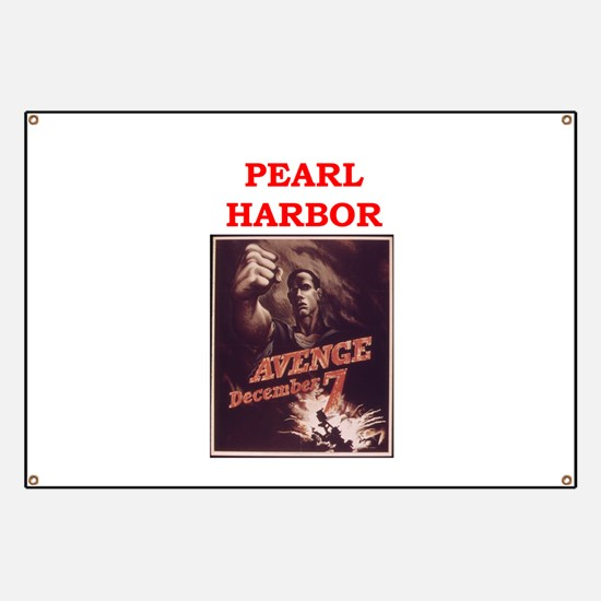 pearl harbor poster Banner