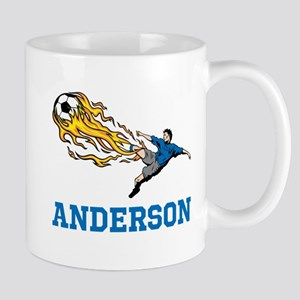 Personalized Soccer Mug