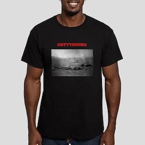 gettysburg Men's Fitted T-Shirt (dark)
