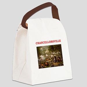 chancellorsville Canvas Lunch Bag