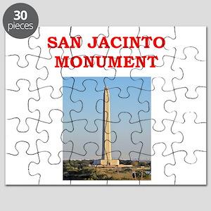 san jacinto monument Puzzle