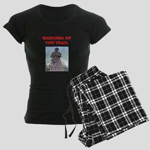 madonna of the trail Women's Dark Pajamas
