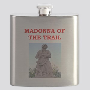 madonna of the trail Flask