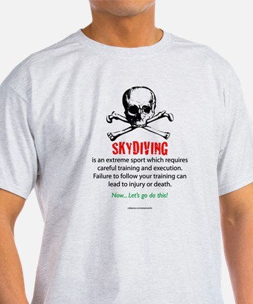 Skydiving Training T-Shirt
