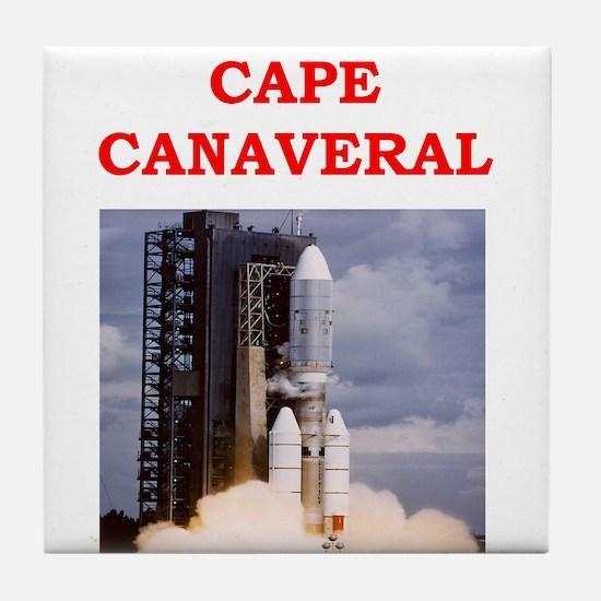 cape canaveral Tile Coaster