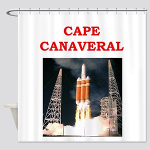 cape,canaveral Shower Curtain