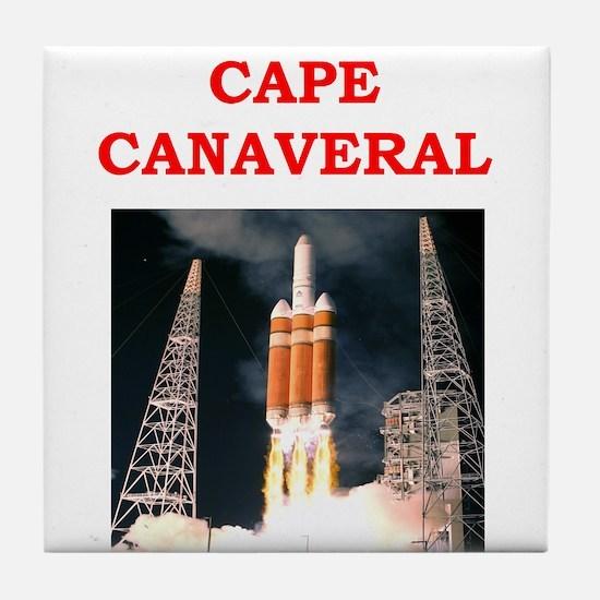 cape,canaveral Tile Coaster