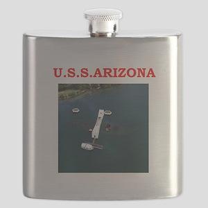 uss arizona Flask