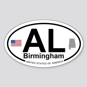 Birmingham Sticker (Oval)