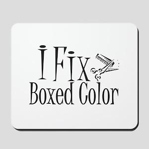 I Fix Boxed Color Mousepad