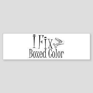 I Fix Boxed Color Bumper Sticker