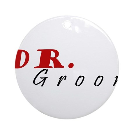 DOCTOR Groom Ornament (Round)