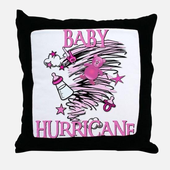 BABY HURRICANE Throw Pillow