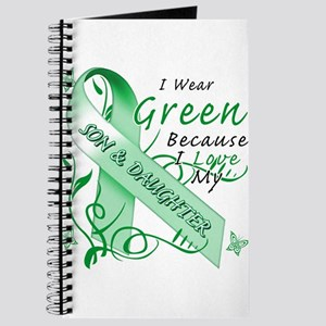 I Wear Green Because I Love My Son and Daughter.p