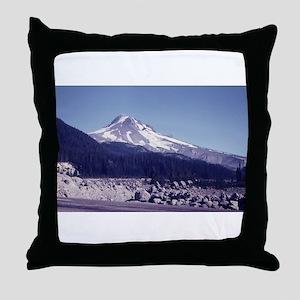 Mount Hood, Oregon Throw Pillow