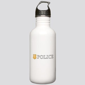 Police Stainless Water Bottle 1.0L