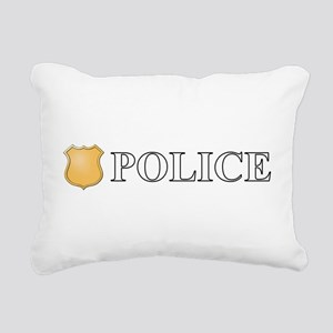 Police Rectangular Canvas Pillow