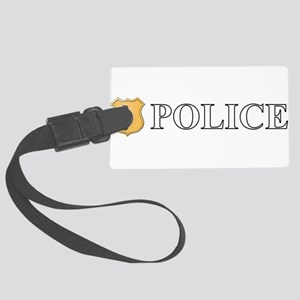 Police Large Luggage Tag