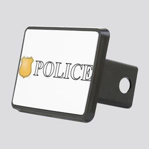 Police Rectangular Hitch Cover
