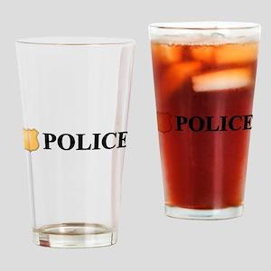 Police B Drinking Glass