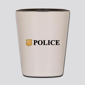 Police B Shot Glass