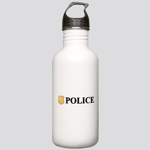 Police B Stainless Water Bottle 1.0L