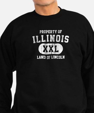 Property of Illinois the Land of Lincoln Sweatshir